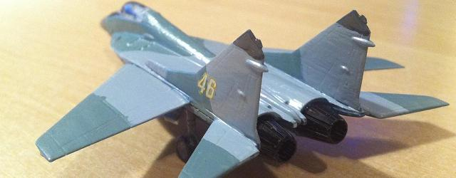 Well … I did it again, this is now a second model I bought for 4,99E to build. However, this time, the challenge was a bit bigger with this Mig29 […]