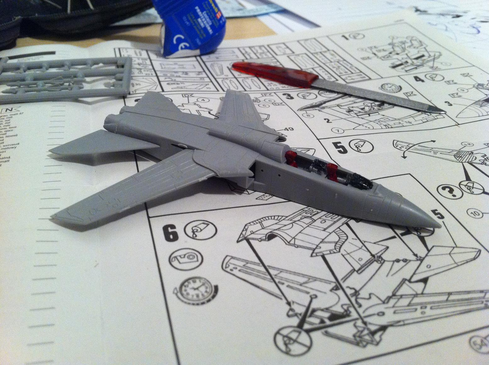 Tornado GR.Mk.1 Model Construction #3