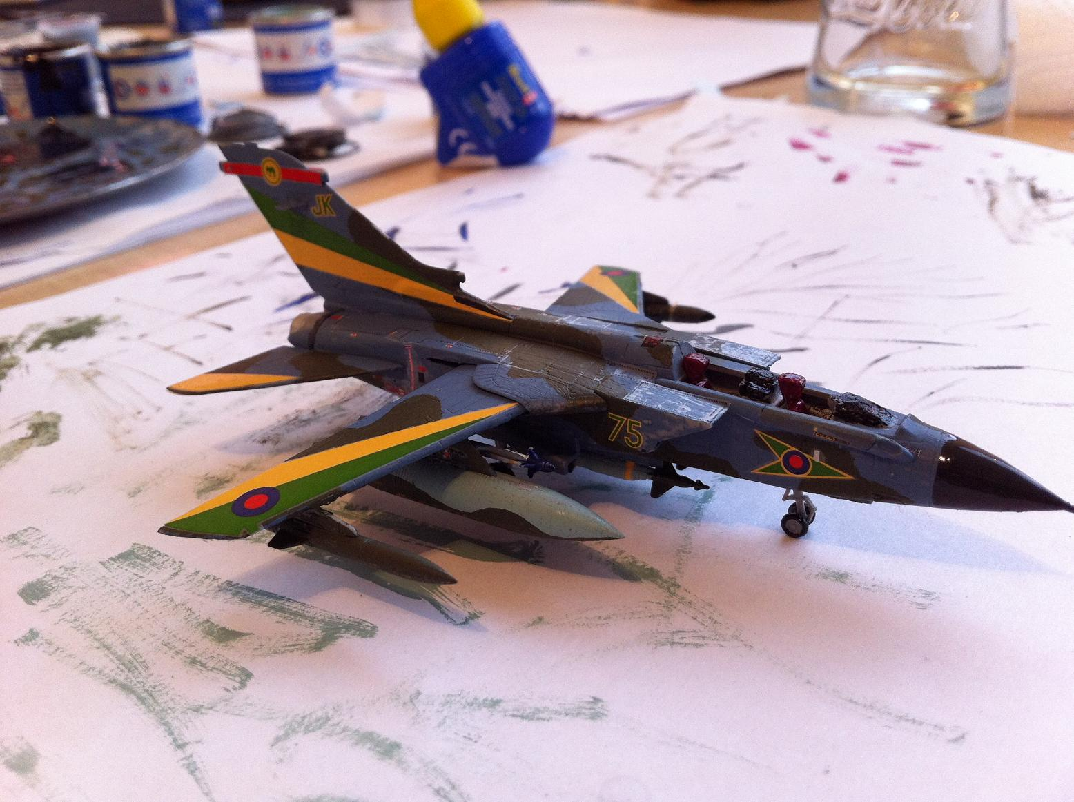 Tornado GR.Mk.1 Model Construction #11