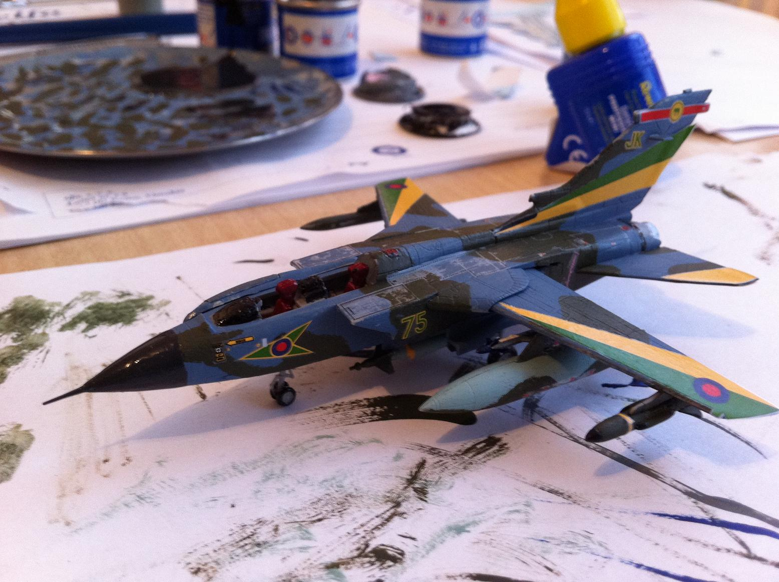 Tornado GR.Mk.1 Model Construction #12