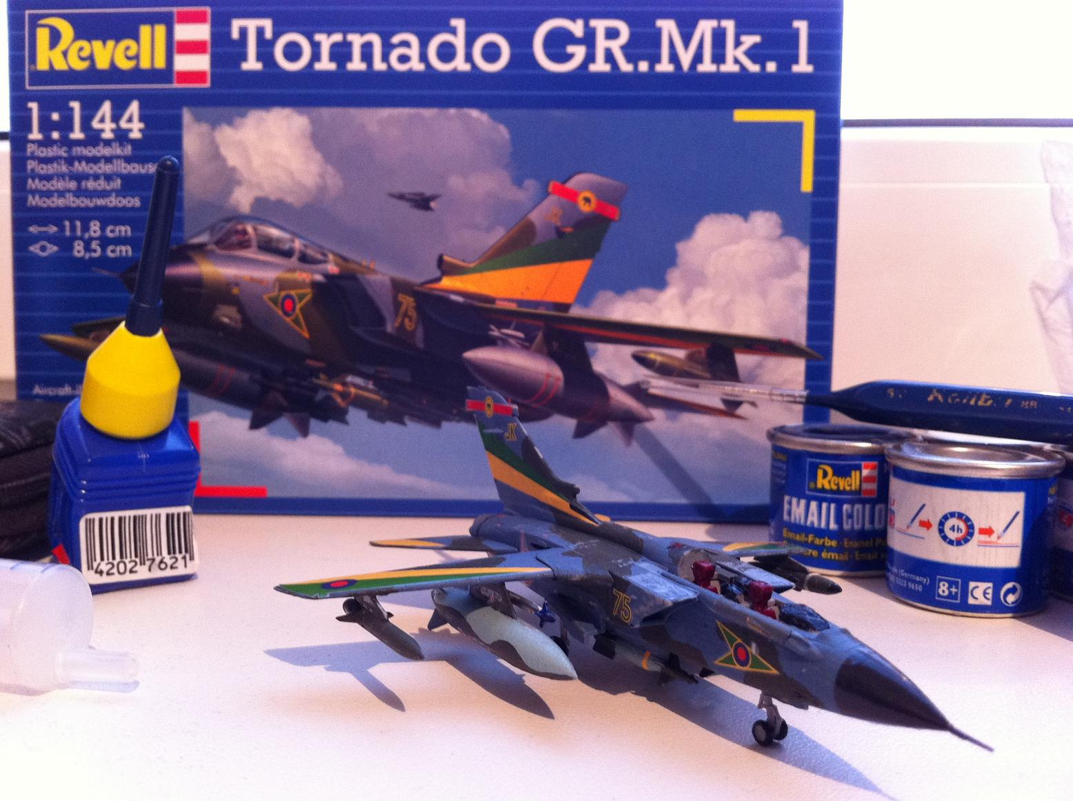 Tornado GR.Mk.1 Model Construction #14