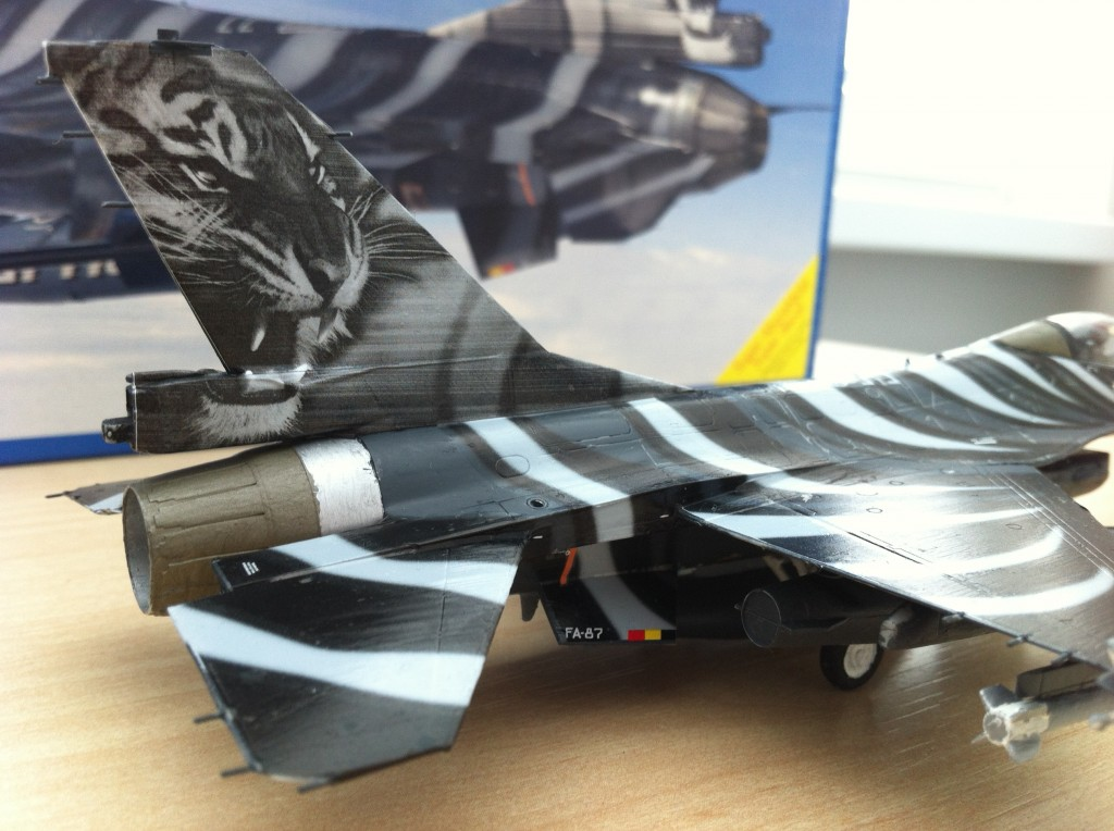 F16 MLU Tigermeet 2009 revell model 14