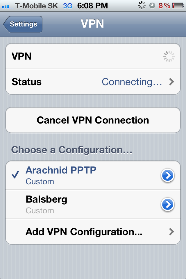 Access your home LAN securely via Internet from iPhone/iPad