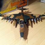 Zvezda 1/72 Sukhoi Su-25 plastic model 4