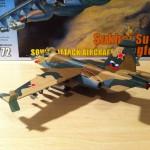 Zvezda 1/72 Sukhoi Su-25 plastic model 6