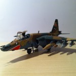 Zvezda 1/72 Sukhoi Su-25 plastic model 13