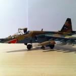 Zvezda 1/72 Sukhoi Su-25 plastic model 12