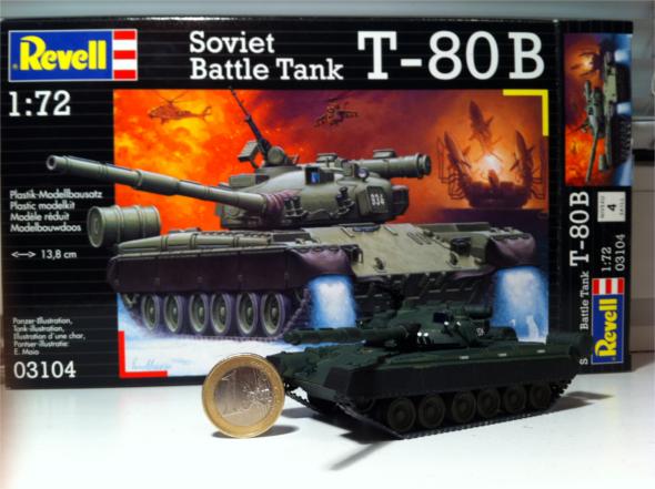 Revell T-80B model 1/72 scale