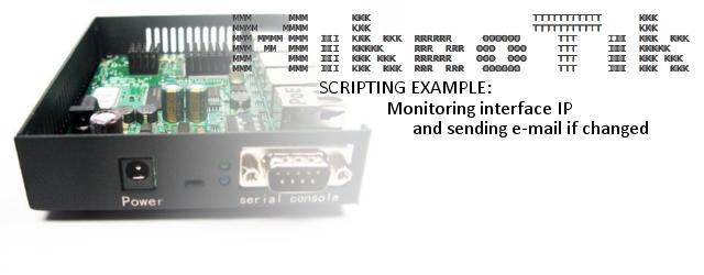 [minipost] Mikrotik scripting: Monitoring interface IP for changes