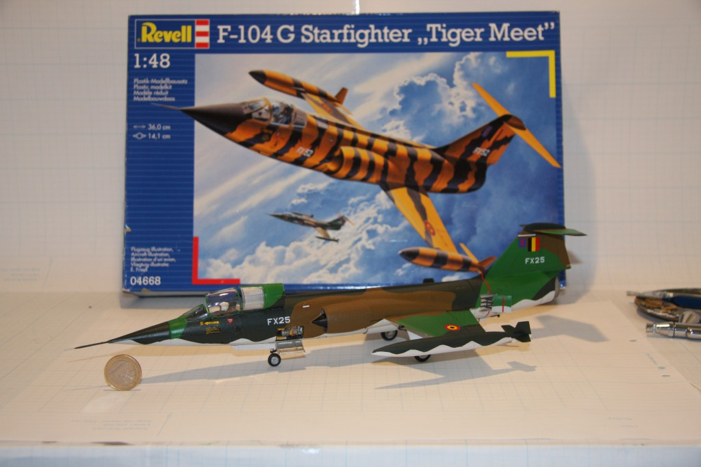 Revell F-104g model 1/48 - picture 1
