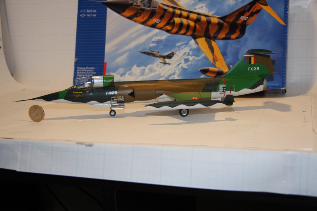 Revell F-104g model 1/48 - picture 2