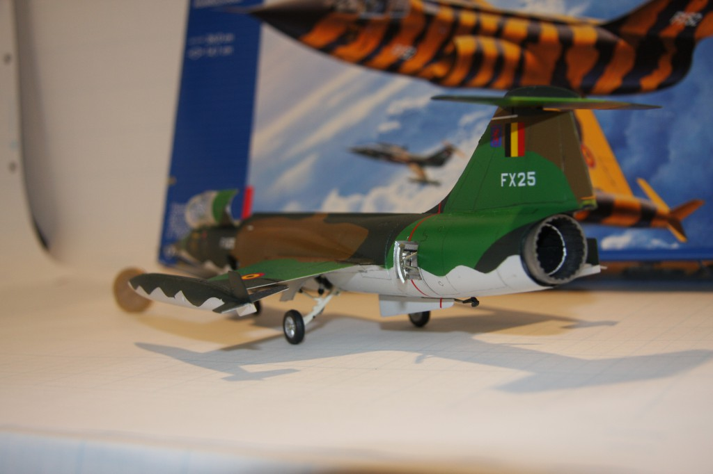 Revell F-104g model 1/48 - picture 4