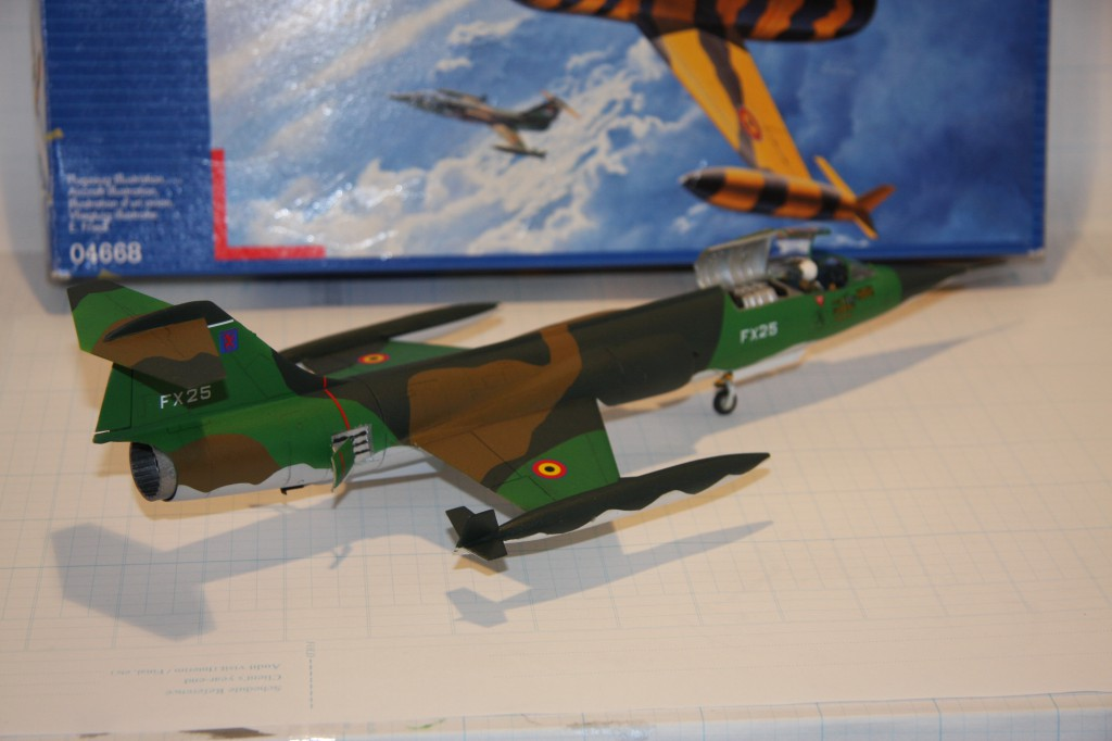Revell F-104g model 1/48 - picture 5