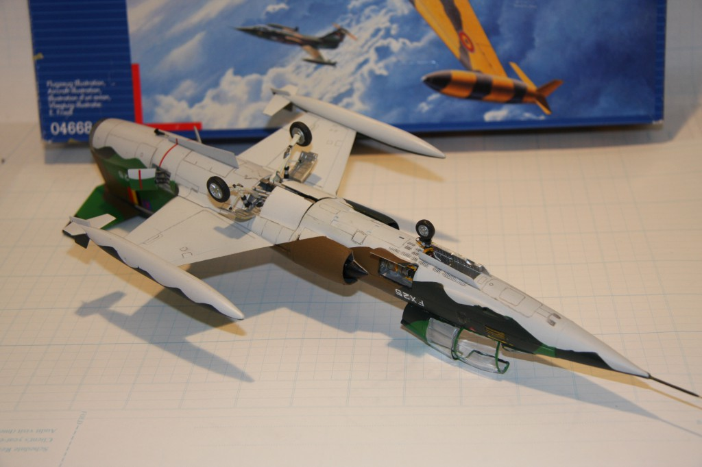 Revell F-104g model 1/48 - picture 7