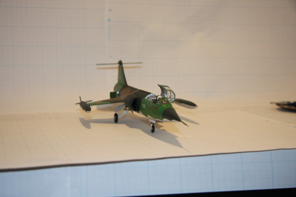 Revell F-104g model 1/48 - picture 8