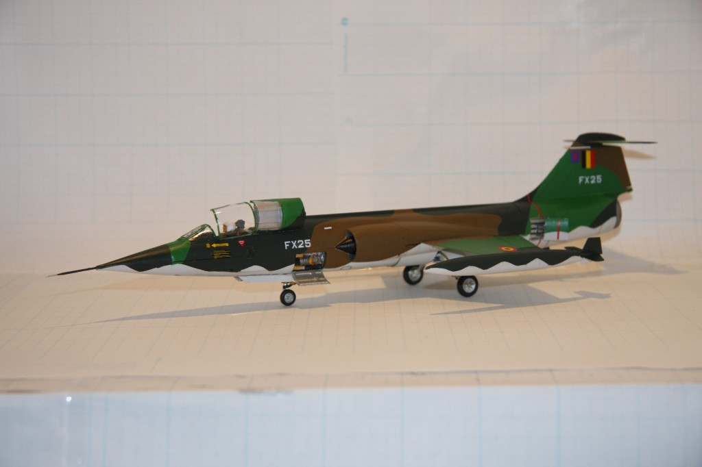 Revell F-104g model 1/48 - picture 9
