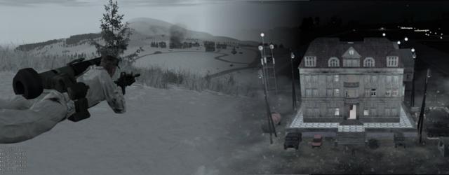 ArmA2 CWR2 mod: Winter Kolgujev + Malden Domination with Xmas extras