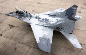 Slovak Air Force MiG29 - plane number #0921