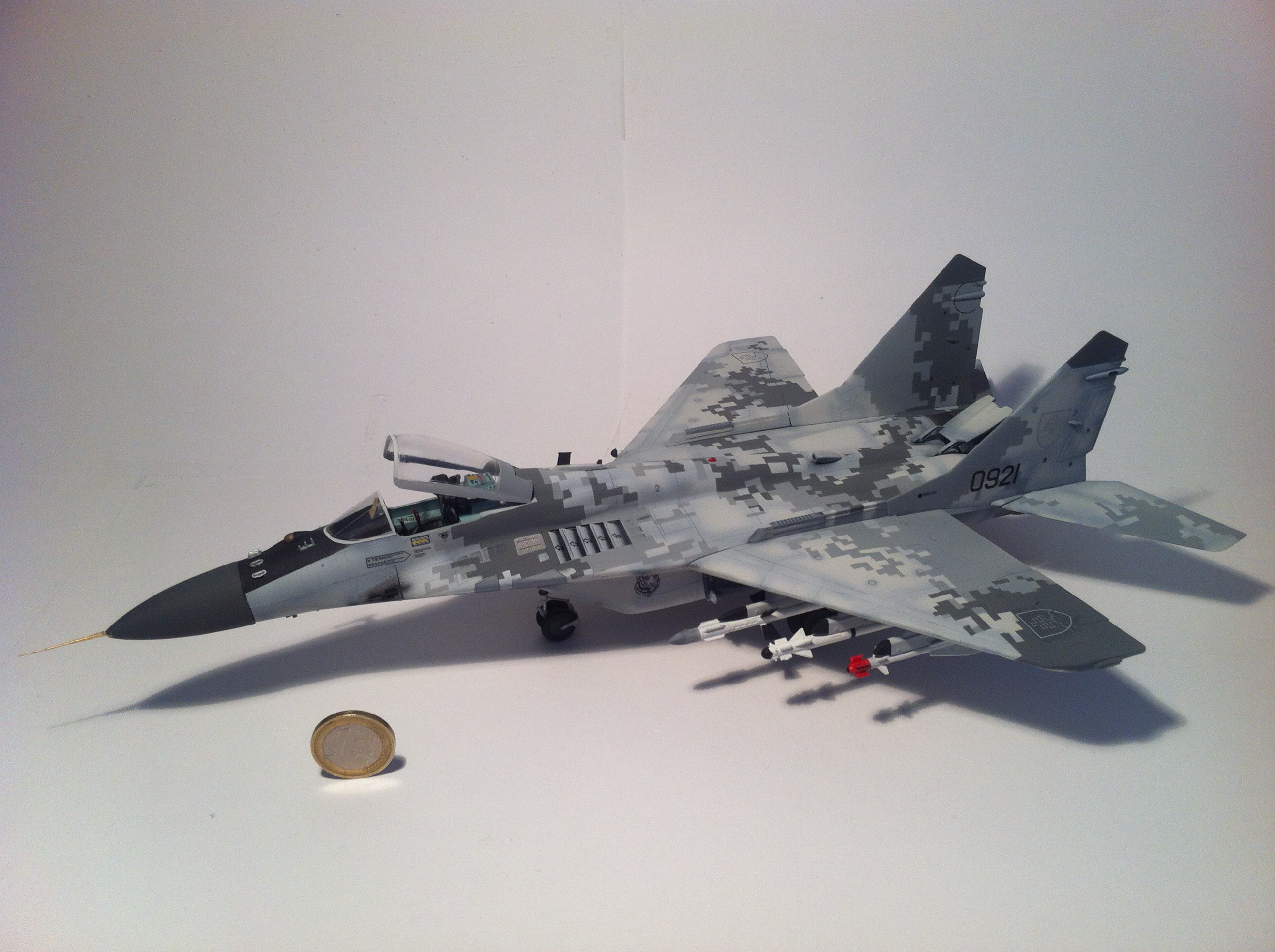Air Force Academy >> Slovak Air Force MiG-29 with 2008 Digital Camoflage, 1/48