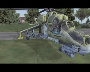 Operation Flashpoint (2001) legend game with Hind Mi-24 usable