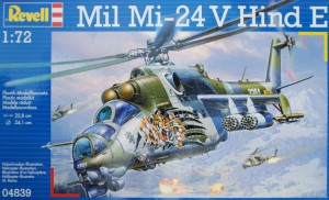 Revell 1:72 set, usable for both Czech version (shown) and soviet version